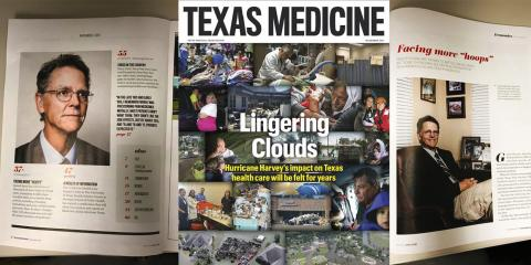 Texas Medicine Magazine Features CMHS Physician, Dr. Hurley , Gatesville, Texas