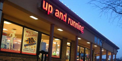 Up and Running In Dayton, Athletic Shoes, Shopping, Dayton, Ohio