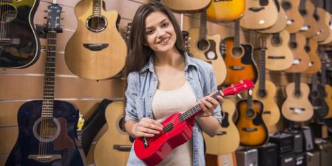 4 Common Types of Ukuleles, Honolulu, Hawaii