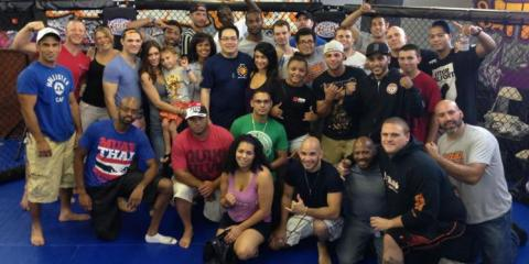West Hartford Mixed Martial Arts Gym Celebrates Its Building Champions, West Hartford, Connecticut