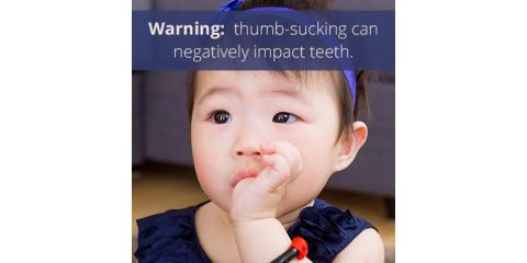 How can thumbsucking affect my child's teeth?, Maryland Heights, Missouri