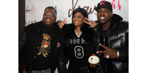 3 Zoes in 1: Karen Civil, Dj Scripz, & Casanova All At Karen Civil Day, Manhattan, New York