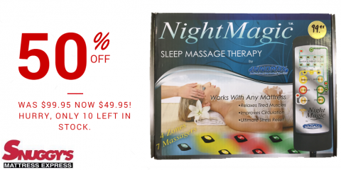 50% Off Night Magic Sleep Massage Therapy, Florence, Kentucky
