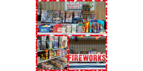 Check Out Our Fireworks!, Bourbon, Missouri