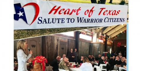 Gatesville Community Provides Christmas Meal for US Army Reserves , Gatesville, Texas