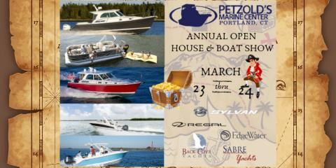 Buy a Boat at Petzold's 74th Annual Open House & Boat Show, Portland, Connecticut