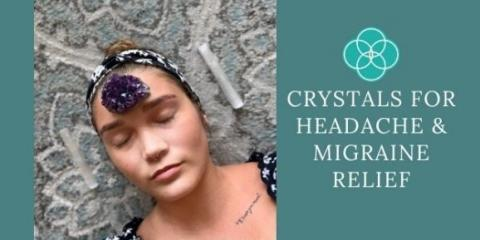 Crystals for Headache & Migraine Relief, Kihei, Hawaii