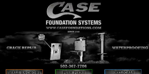 Case Foundation Systems, Foundation Repair, Services, Louisville, Kentucky