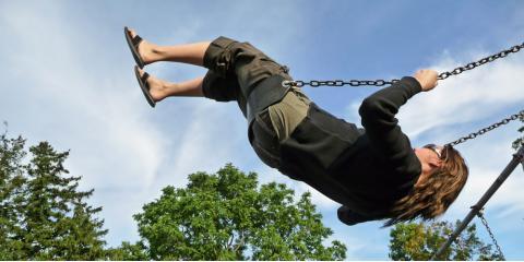 3 Health Benefits of Swing Sets, Urbandale, Iowa