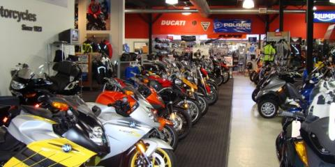 New & Used Motorcycles That Will Get Your Adrenaline Soaring at Gold Coast Motorsports, North Hempstead, New York