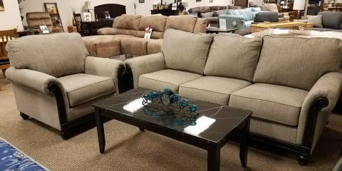 SOFA AND CHAIR – BLACKWOOD - $770, St. Louis, Missouri