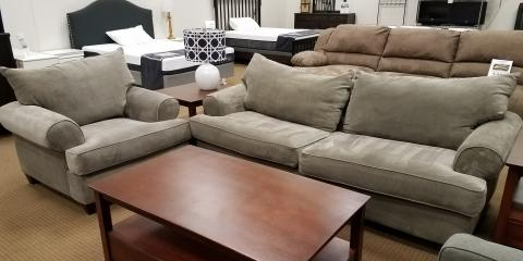 SOFA AND CHAIR-EMMANUEL-COBBLESTONE-$383, St. Louis, Missouri