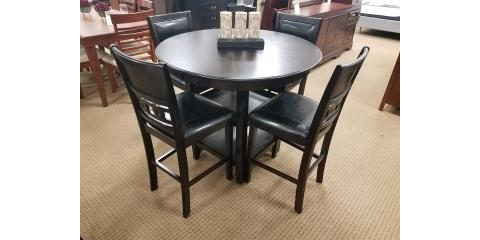 COUNTER HEIGHT DINING TABLE AND 4 CHAIRS U2013 GIA   $425, ,