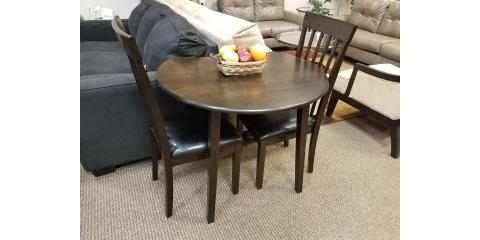 Drop Leaf Dining Table and 2 Chairs - Hammis - $230, ,
