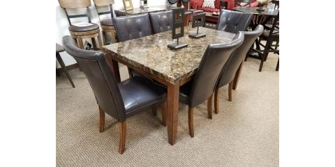 Dining Table and 6 Chairs - Lacey - $400, ,