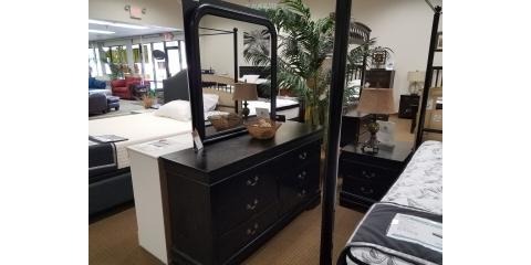 4 Piece Bedroom Set - Louis Philippe Black  - $325, ,