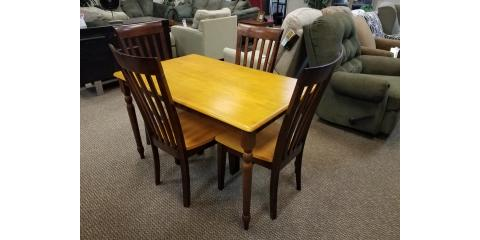 DINING TABLE AND 4 CHAIRS – MADISON - $250, ,
