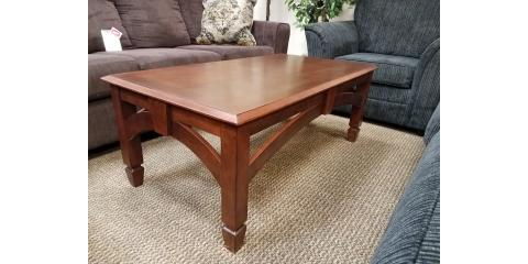 COFFEE AND 2 END TABLES - $175, ,