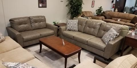 SOFA AND LOVESEAT – PAULIE – QUARRY - $450, ,