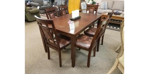 DINING TABLE AND 6 CHAIRS – WESTLAKE - $450, ,