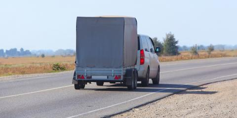 How Hauling a Trailer Changes How You Drive, West Chester, Ohio