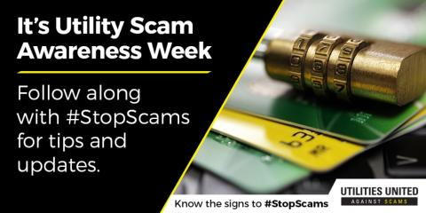 National Utility Scam Awareness Week, Hernandez, New Mexico