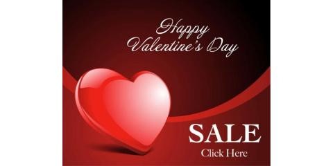 24 Hour Valentine's Day Flash Sale!-save 35% today only!, Clayton, Missouri