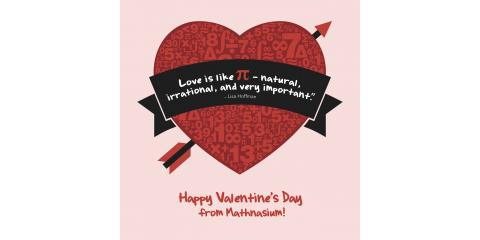 Draw Your Math Valentine! , Trumbull, Connecticut