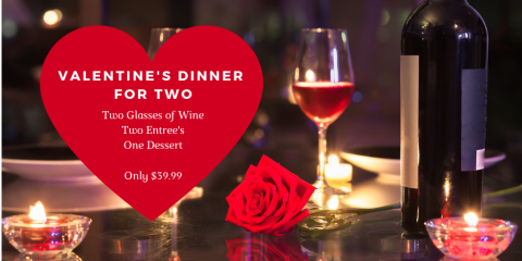 Valentine's Day Dinner for Two, Southwest Arapahoe, Colorado