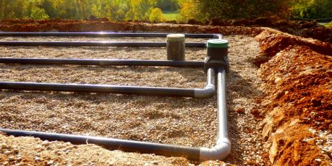 Septic Installation Pros' Top 3 Tips For Designing The Drain Field, Kalispell, Montana