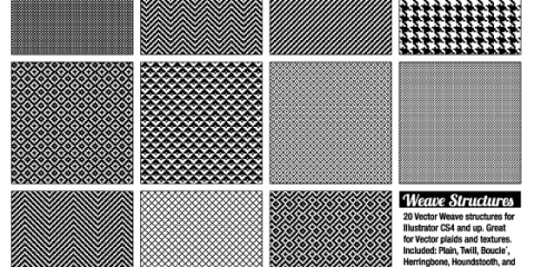 Free Vector Weave Structure Goodies, Manhattan, New York