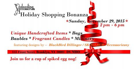 Vedazzling Accessories Holiday Shopping Event, Brooklyn, New York