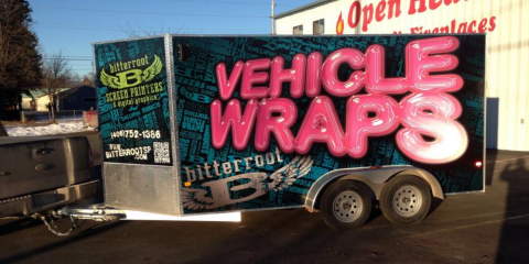 What Makes Vehicle Wraps the Top Marketing Option for Your Business?, Kalispell, Montana