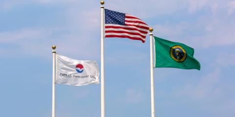 The Do's & Don'ts of Flying Multiple Flags, Vermilion, Ohio
