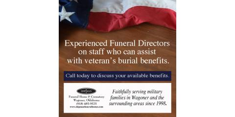 Burial Benefits for Veterans, Wagoner, Oklahoma