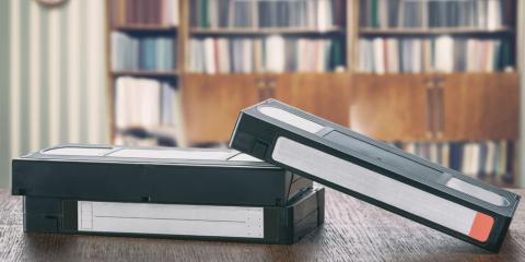 3 Benefits of Transferring VHS to DVD Locally, Minneapolis, Minnesota