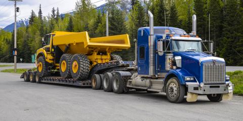 What's the Difference Between Flatbed & Step Deck Trailers?, Victor, New York