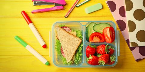 3 Easy School Lunch Ideas Rich With Fresh Vegetables, Vineland, New Jersey