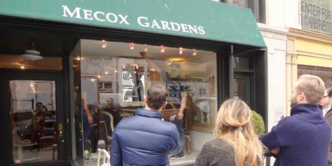 Spirit Of Spring Designer Windows: Top Designers Are Taking Over NYCu0027s  Vintage Furniture Store   Mecox Gardens   Manhattan | NearSay