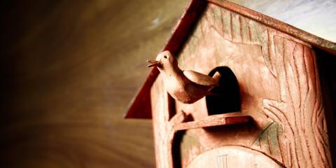 A Cincinnati Clock Shop Explains the History of the Cuckoo Clock, Mason, Ohio