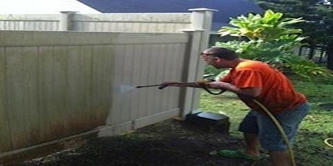 5 Vinyl Fence Power-Washing Tips to Remain Homeowners Association Compliant, Ewa, Hawaii