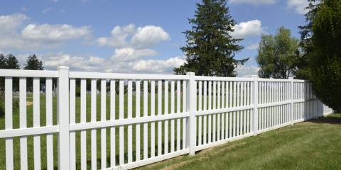 3 Surprising Benefits of Vinyl Fencing, Greensboro, North Carolina
