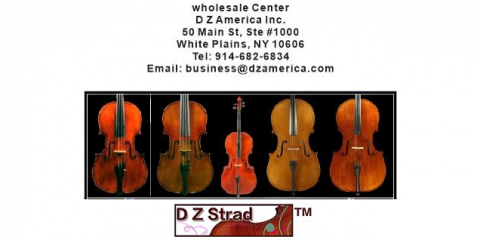 Visit D Z Strad's New White Plains Location to Sample a Full Array of Violins, Cellos & Violas, White Plains, New York