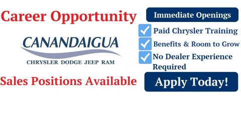 Come Join the Family!  We're Growing our Sales Team, Canandaigua, New York