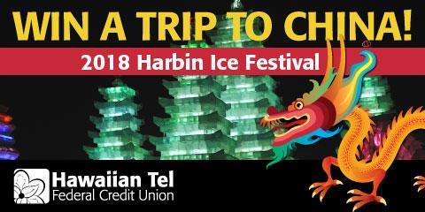 Win a Trip to China, Honolulu, Hawaii