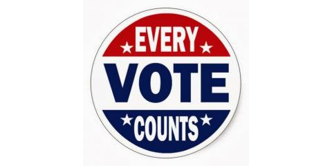 It's Election Day!!  Be sure to go out and exercise your right to vote!!!!, Forked River, New Jersey