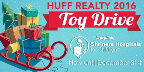 HUFF Realty's Annual Toy Drive For Shriners Hospital, Montgomery, Ohio