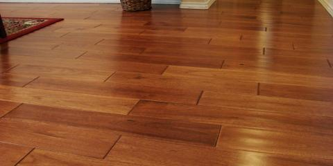 use these wood floor refinishing tips to fix nicks & scratches