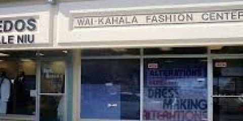 Waikahala Fashion Center, Tailors, Services, Honolulu, Hawaii