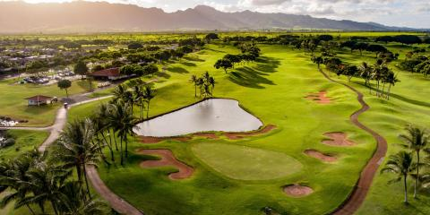 5 Key Features of a Golf Course, Ewa, Hawaii